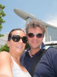 Gaia e Mark ci portano oltre oceano, Singapore - agosto 2012