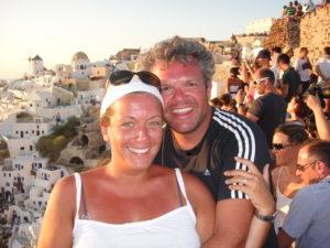 Il tramonto più 'romantico' del mondo, Grecia - agosto 2013