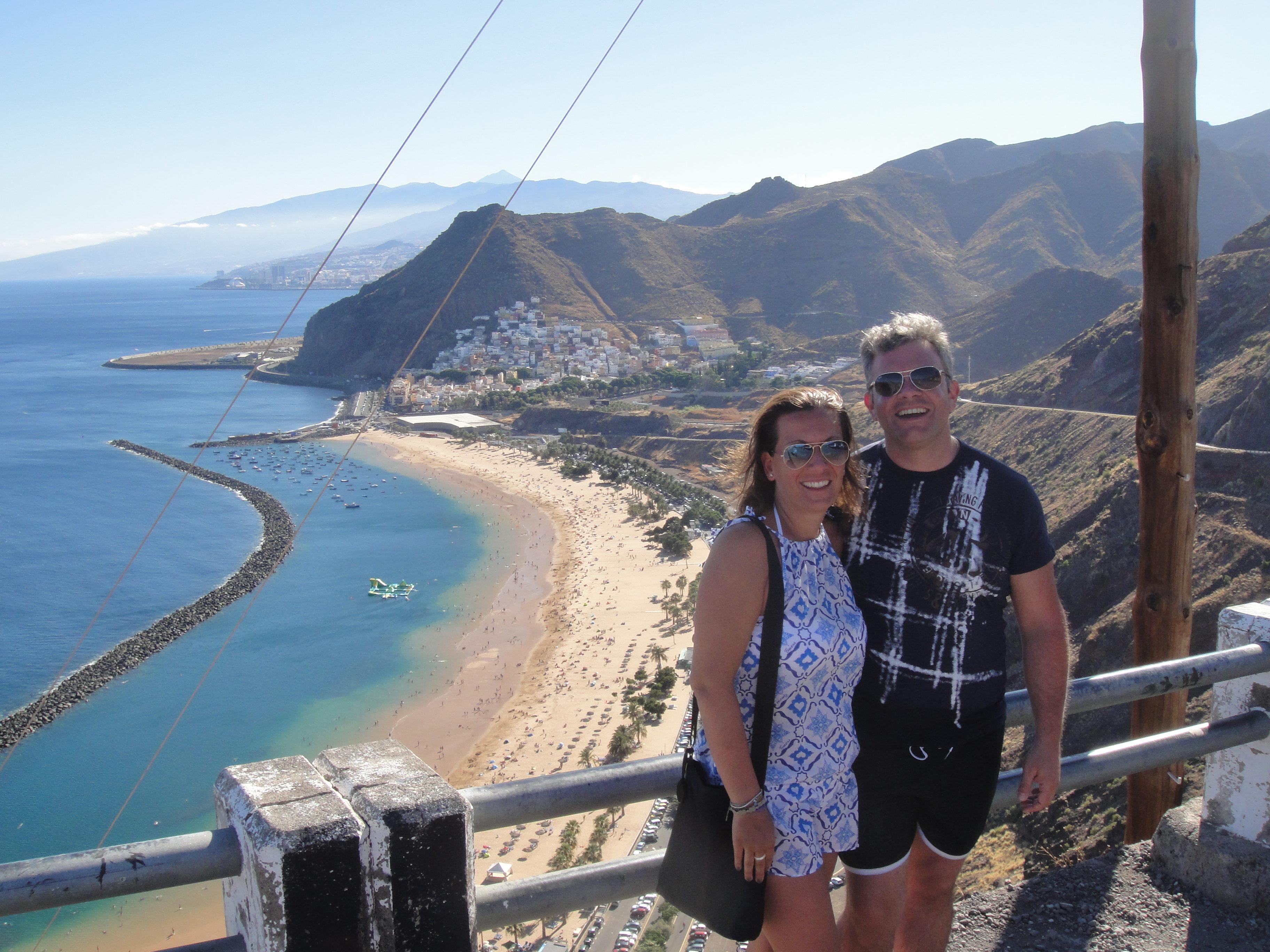 Un'altra spiaggia e un altro oceano, Tenerife - agosto 2014