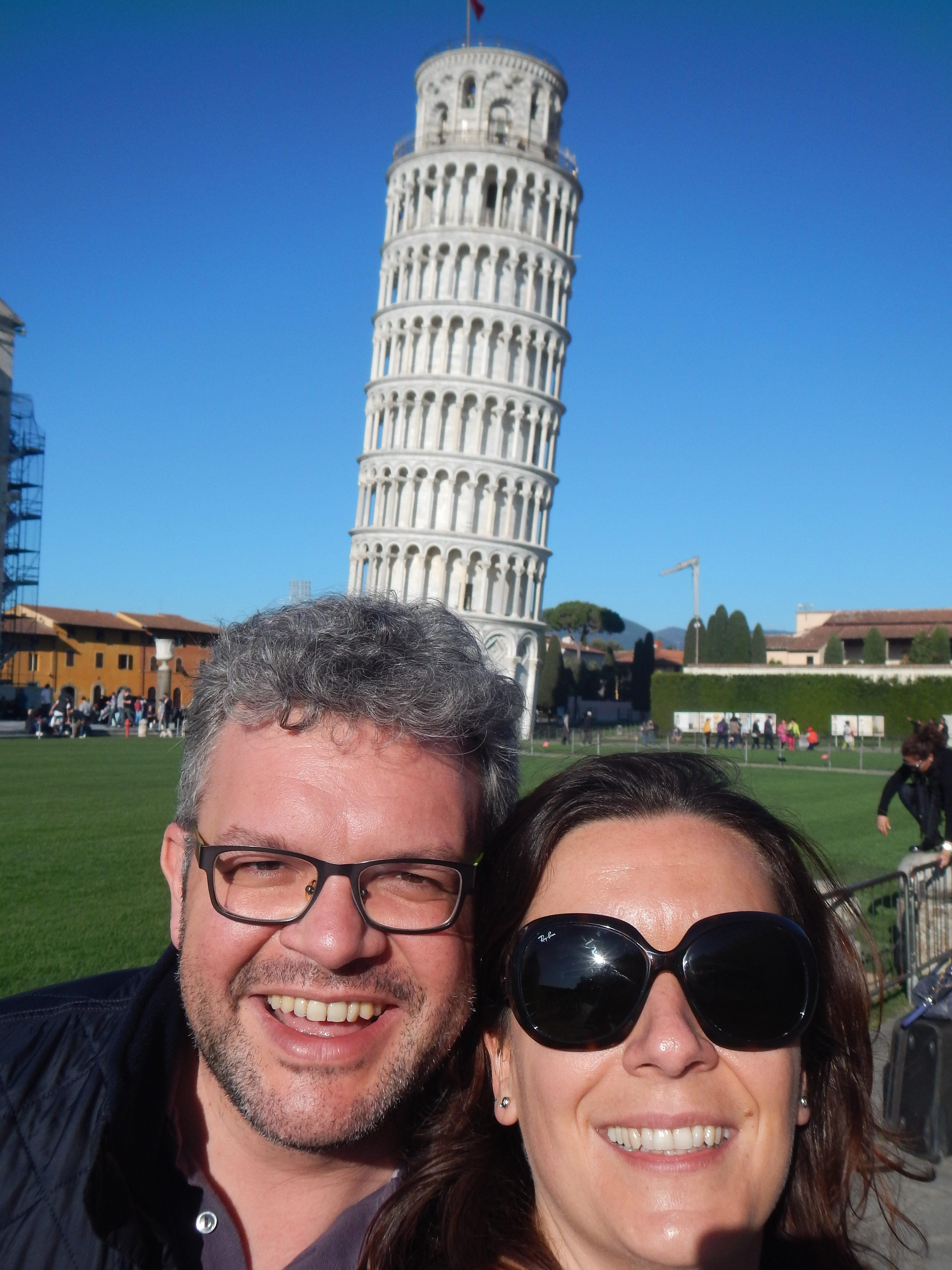 Piccola tappa sul ritorno, Pisa - aprile 2016